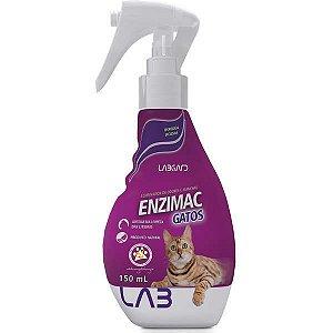 Eliminador de Odores e Manchas Labgard Enzimac Spray para Gatos 150ML