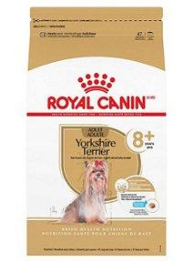 Royal Canin Cães Adultos Yorkshire Terrier Acima de 8 Anos 2,5KG