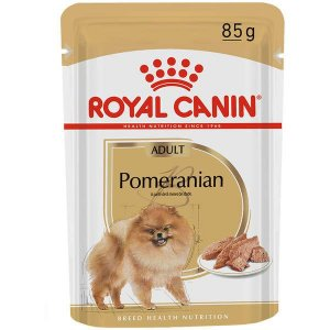 Royal Canin Sachê Breed Health Nutrition para Cães Adultos Pomeranian 85G