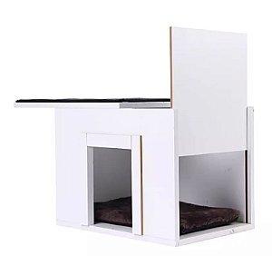 Arranhador para Gatos Baw & Miaw Box Branco