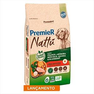 Premier Nattu Cães Adultos sabor Abóbora 12KG