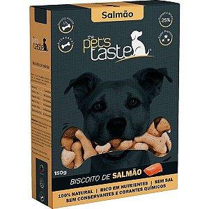 Biscoito The Pet's Taste Salmão para Cães Adultos 150G