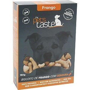 Biscoito The Pet's Taste de Frango 150G
