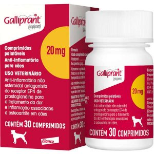 Anti-Inflamatório Galliprant 20MG Com 30 Comprimidos