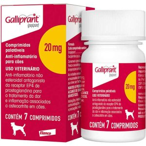 Anti-Inflamatório Galliprant 20MG Com 7 Comprimidos