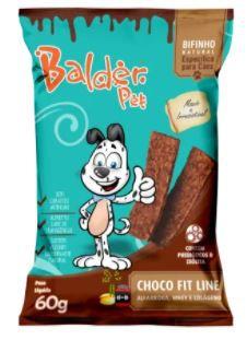 BIFINHO BALDER PET CHOCO FIT LINE - 60G