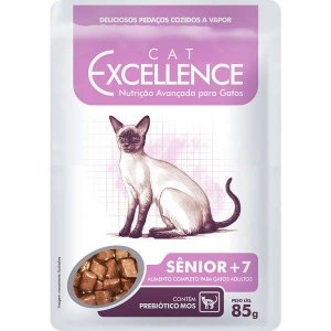 Excellence Sachê para Gatos Sênior +7 85GR