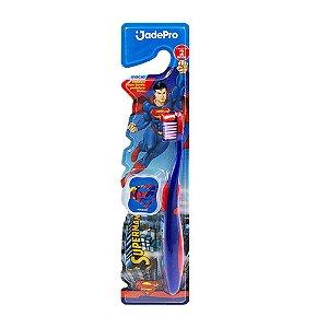 Escova Dental Superman c/prot Macia Jade Pro