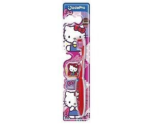 Escova Dental Hello Kitty Macia c/prot Jade Pro
