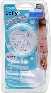 Respire Bem - Aspirador Nasal de Sucção Lolly