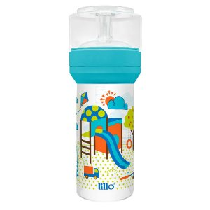 Mamadeira Lillo Super Divertida - Silicone - 260 mL