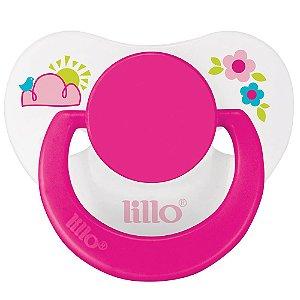Chupeta Lillo Divertida Baby Silicone Tamanho 2