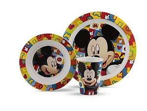 Conjunto Alimentação com 3 Peças Disney Lillo