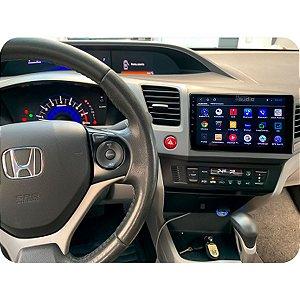 """Central Multimídia Kronos Tela 9"""" Polegadas Honda Civic G9 Gps Tv Android"""