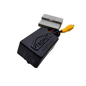 Interface para câmera de ré original para multimidia universal linha honda