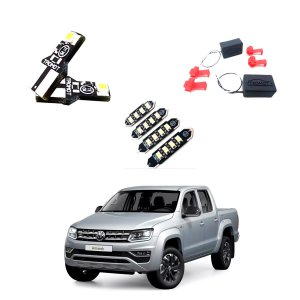 Kit Led Lampadas Amarok Tdi 2020 Interno/externo E Canceller