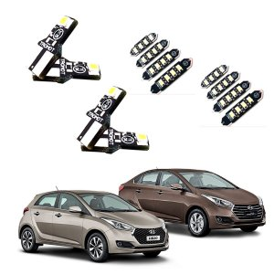 Kit Led Hyundai Hb20 Hb20s 2015 Internos E Externos