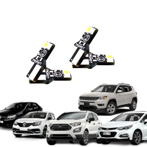 Kit Iluminação LED Sandero, Logan, Cruze, Compass, Ecosport Tromot