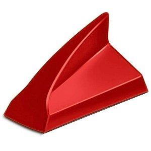 Antena de Teto Receptiva Tubarao Shark Vermelha
