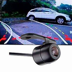 Mini Câmera de Ré Embutir e Borboleta com Linhas Auxiliares Dinâmicas (curva)