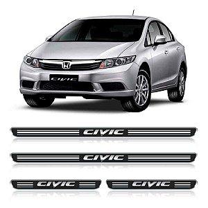 Soleira Honda Civic Resinada adesiva