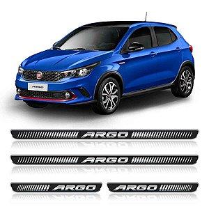 Soleira Fiat Argo Resinada adesiva