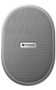 Par Caixa de Som Ambiente Acústica Frahm Ps3 Branca 30w
