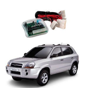 Módulo de Vidro Central Hyundai Tucson 2006 a 2016 Plug Play - SAFE HY-TC 4.0