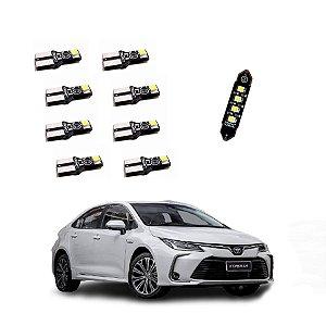Kit Luz Iluminação Led Toyota Corolla Xei E Altis 2020 2021 - TKL-TOY03