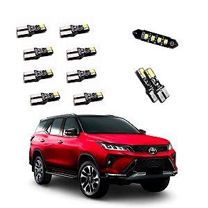 Kit De Luz Iluminação Led Toyota Sw4 Srx 2020 2021 -  TKL-TOY04