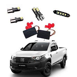 Kit De Led Iluminação Interna e Externa Fiat Strada Endurance 2020 - TKL-FIAT4