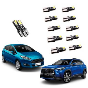 Kit de Led New Fiesta 2014 A 2016 Toyota Corolla Cross Xrx 2021 - TKL-FORD1