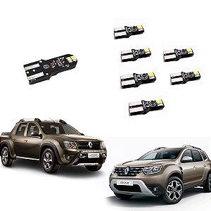 Kit Luz De Led Interno e Externo Renault Oroch E Duster 2015 A 2019 - TKL-RNLT2