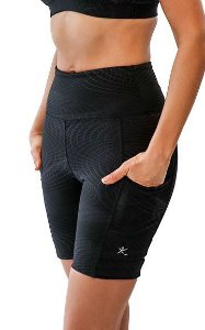 Bermuda Power Running Emana Feminino Legging Express