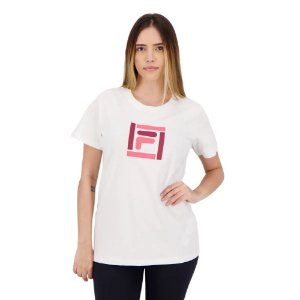 Camiseta Fila Box Color Feminina