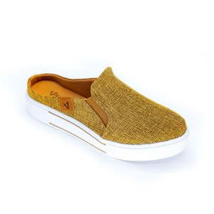 Slip On Mule Feminino Terracota