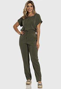 Conjunto Calça e Blusa Feminino Verde