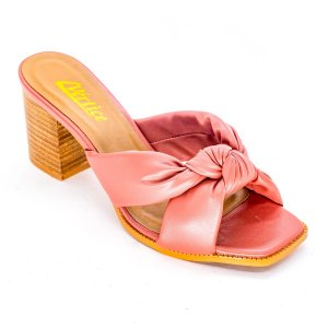 Tamanco Mule Tiras Conforto Soft Pink