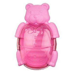Saboneteira Smoby Baby Urso - rosa