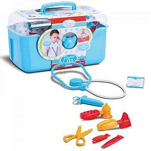 Maleta Doutor & Cia Roma Brinquedos - azul