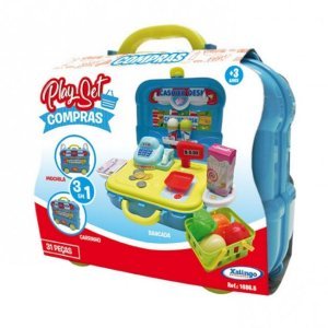 Play Set Compras Xalingo - Azul