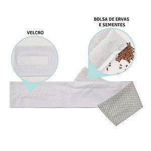 Faixa Térmica Papi bolsa com sementes - cinza