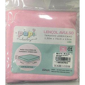 Lençol Avulso Papi Baby - Rosa