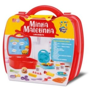 Minha Maletinha Lanchonete Diver Toys