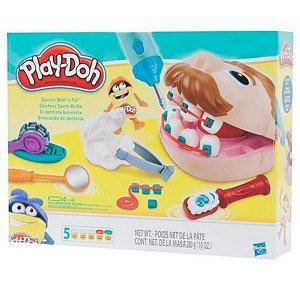 Massinha Play-Doh Brincando de Dentista