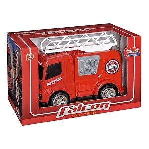 Caminhão Bombeiro Fire Truck Usual Brinquedos