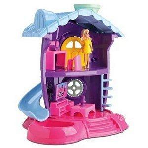 Casinha de Boneca Judy Salinha de TV Samba Toys