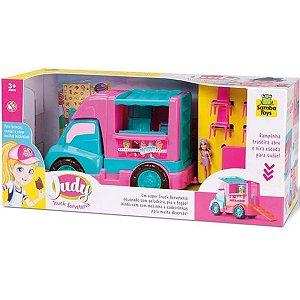 Truck sorveteria Judy Samba Toys