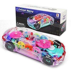Carrinho Educacional Transparente Concept Racing Yijun