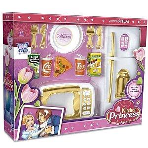 Cozinha Infantil Kitchen Princess Zuca Toys